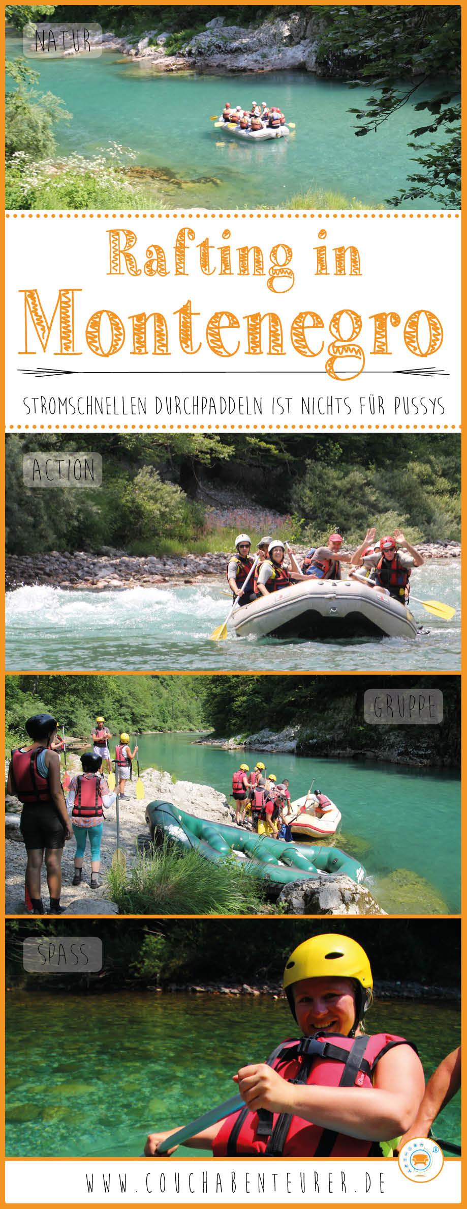 Rafting-Montenegro-Erfahrung