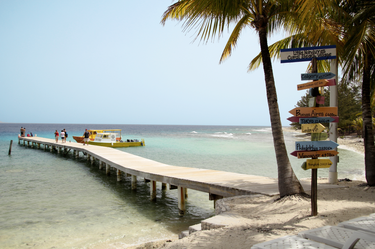 Beach Utila