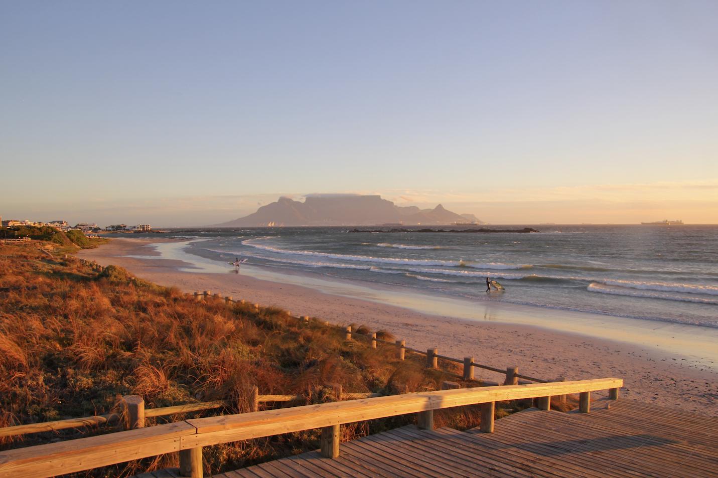 Tafelberg Lieblingsbild Table Mountain Kapstadt, Big Bay