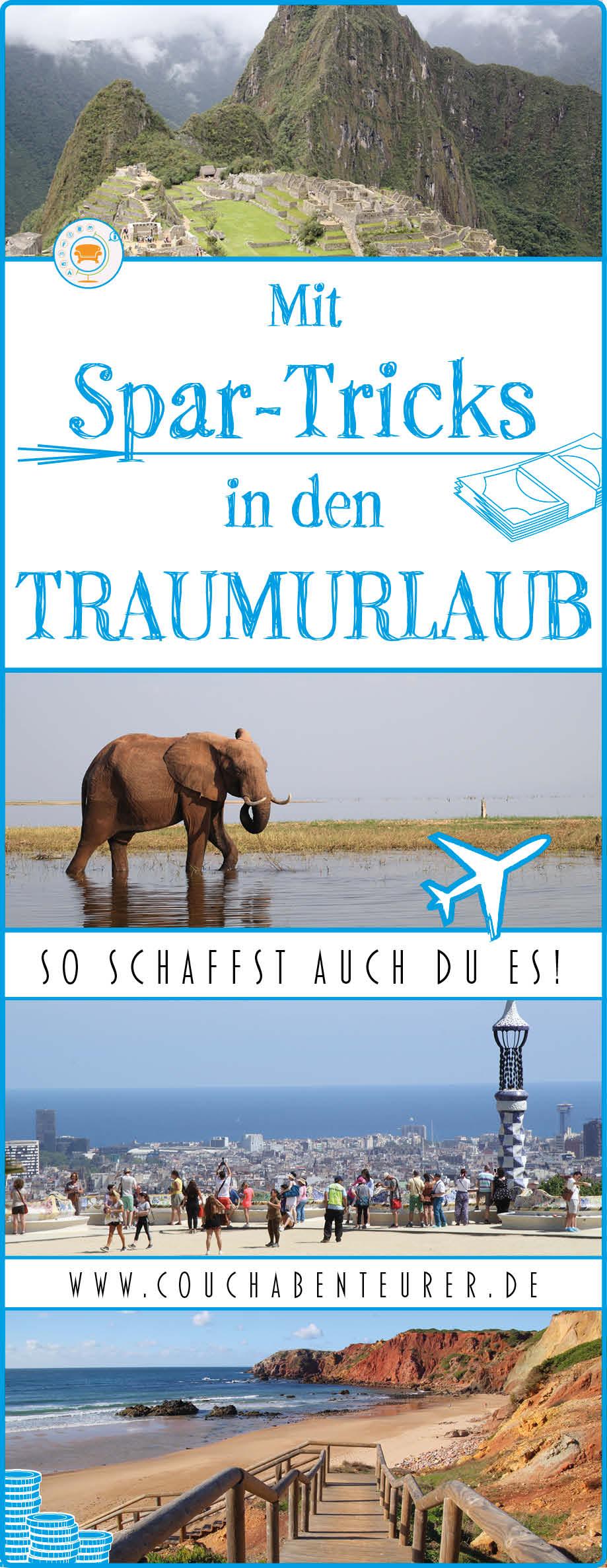 Spar-Tricks-Traumurlaub