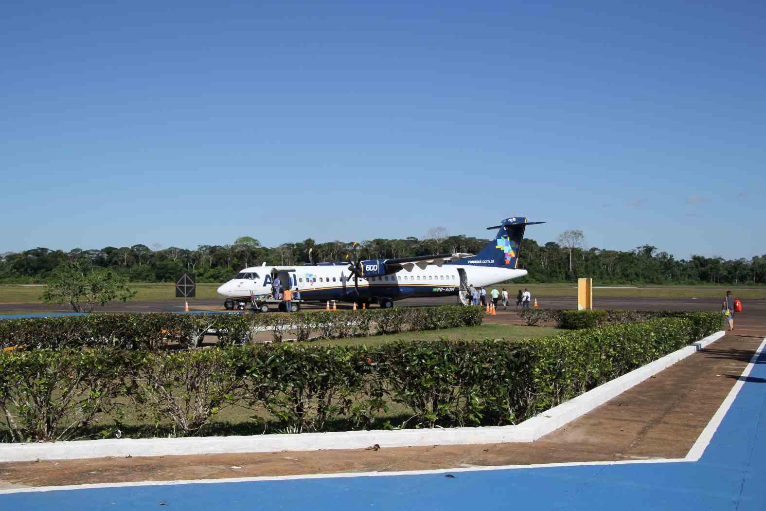 Fliegen Azul Flughafen