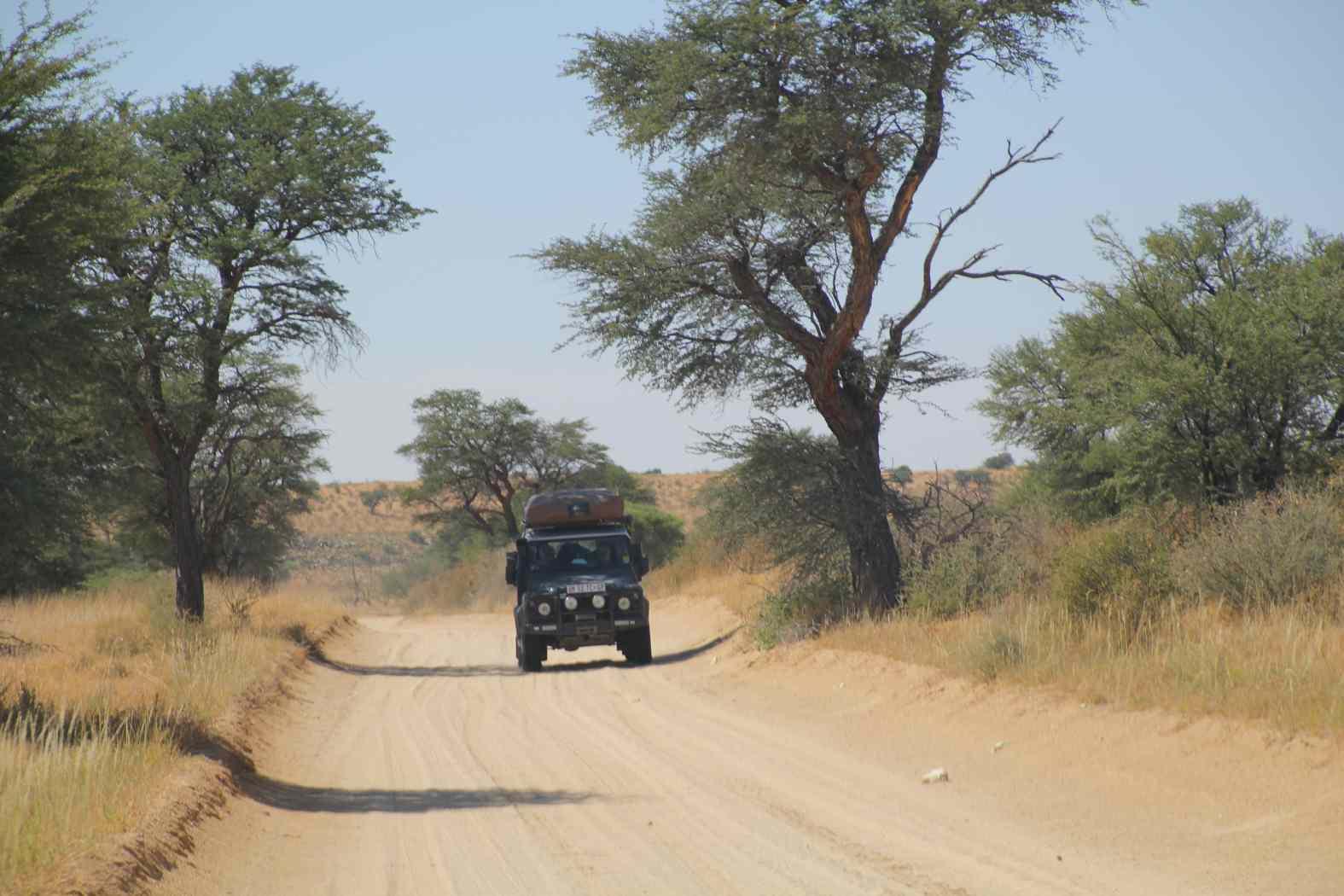 Landi Mietwagen Kgalagadi Transfrontier Park