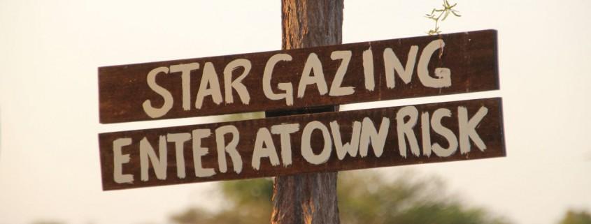 Stargazing Sterne