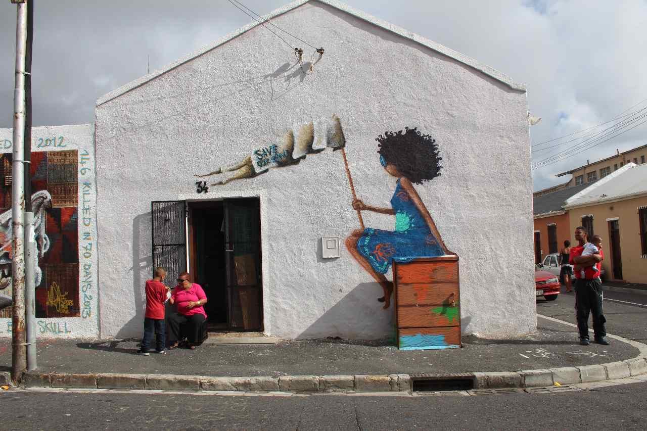 Kapstadt Street Art Woodstock