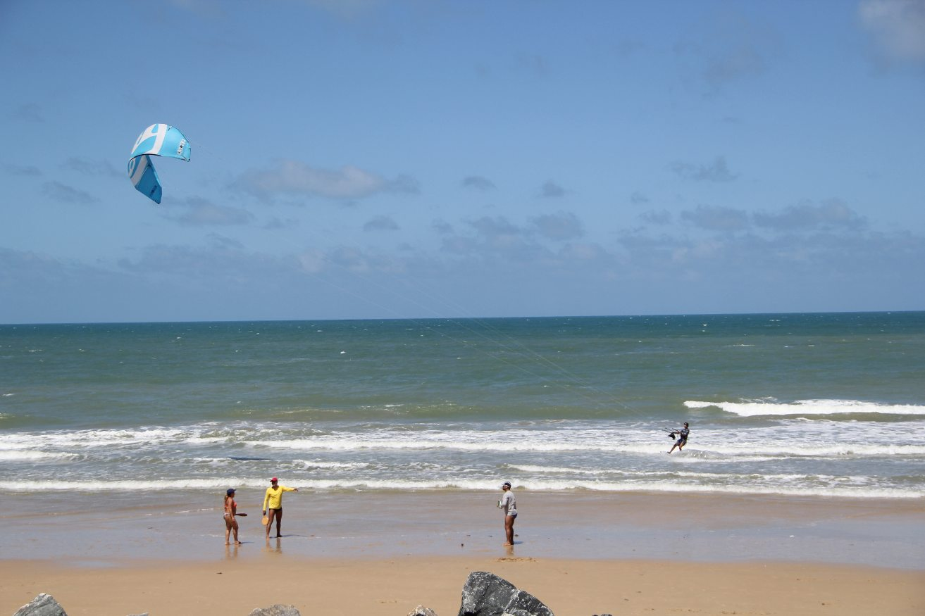 Fortaleza, Beach, kite