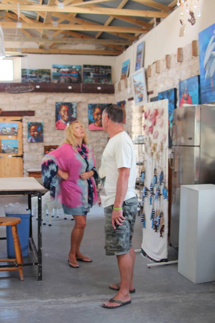 Kunstgalerie, Paternoster, Westküste, Südafrika, West Coast,Julie