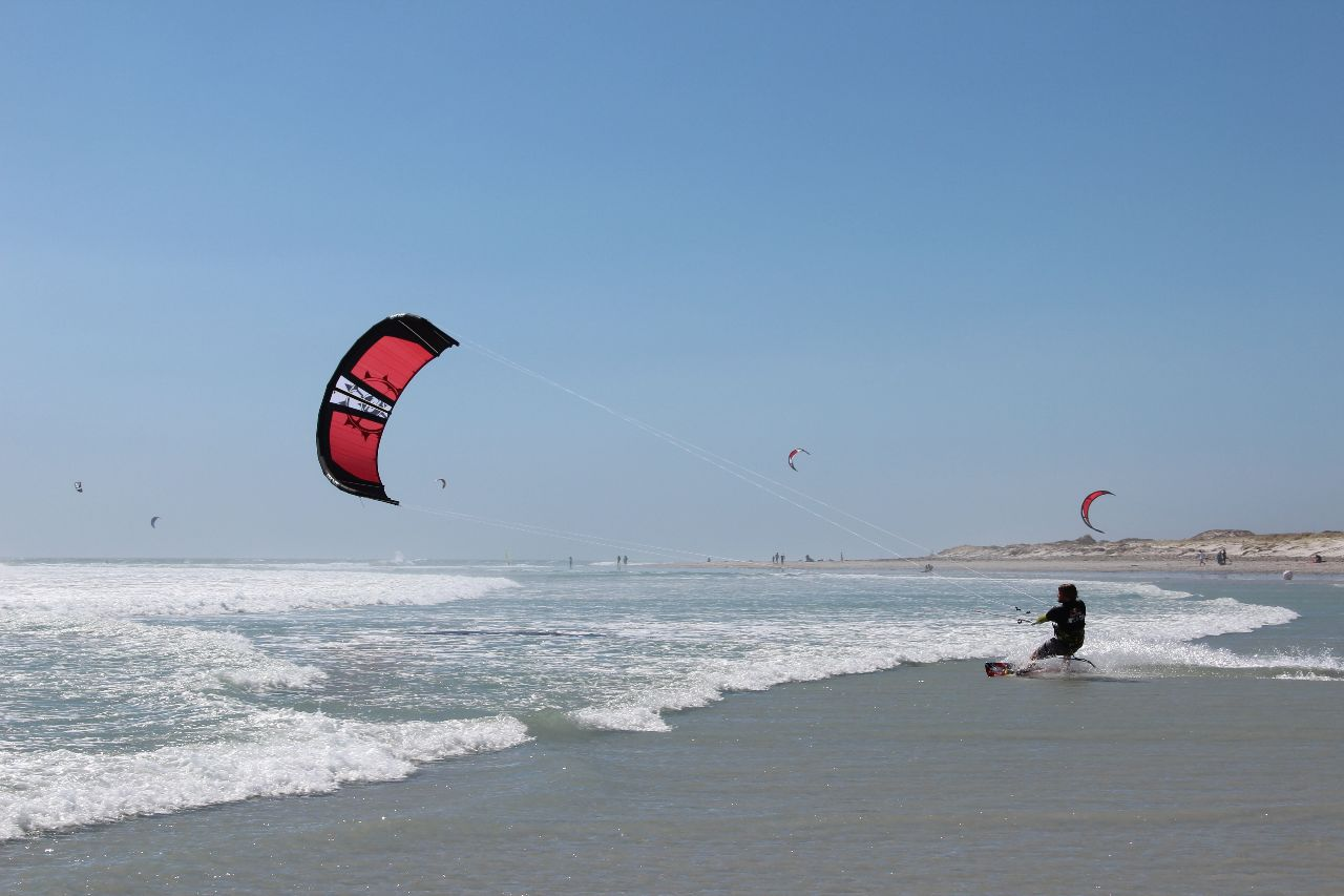 Red Bull King of the air, Kapstadt, Big Bay