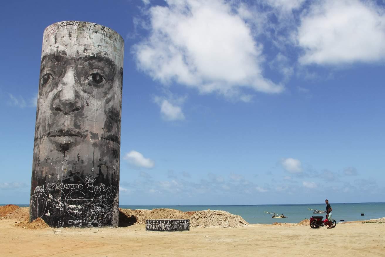 Fortaleza, Brasilien, Street Art