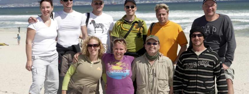 Gruppenfoto Kapstadt Leni Südafrika