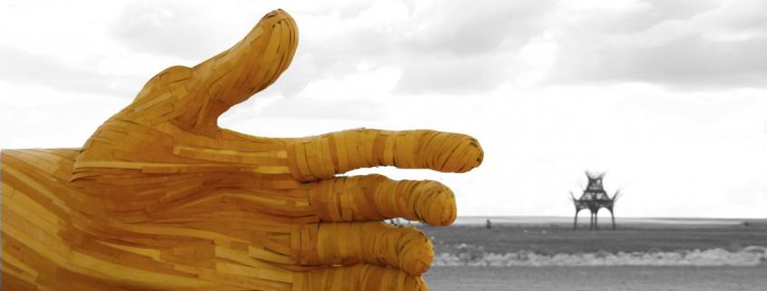 Hand, Afrika Burn