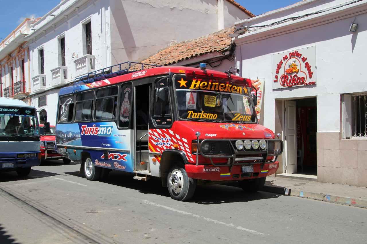 Bus, Bolivien