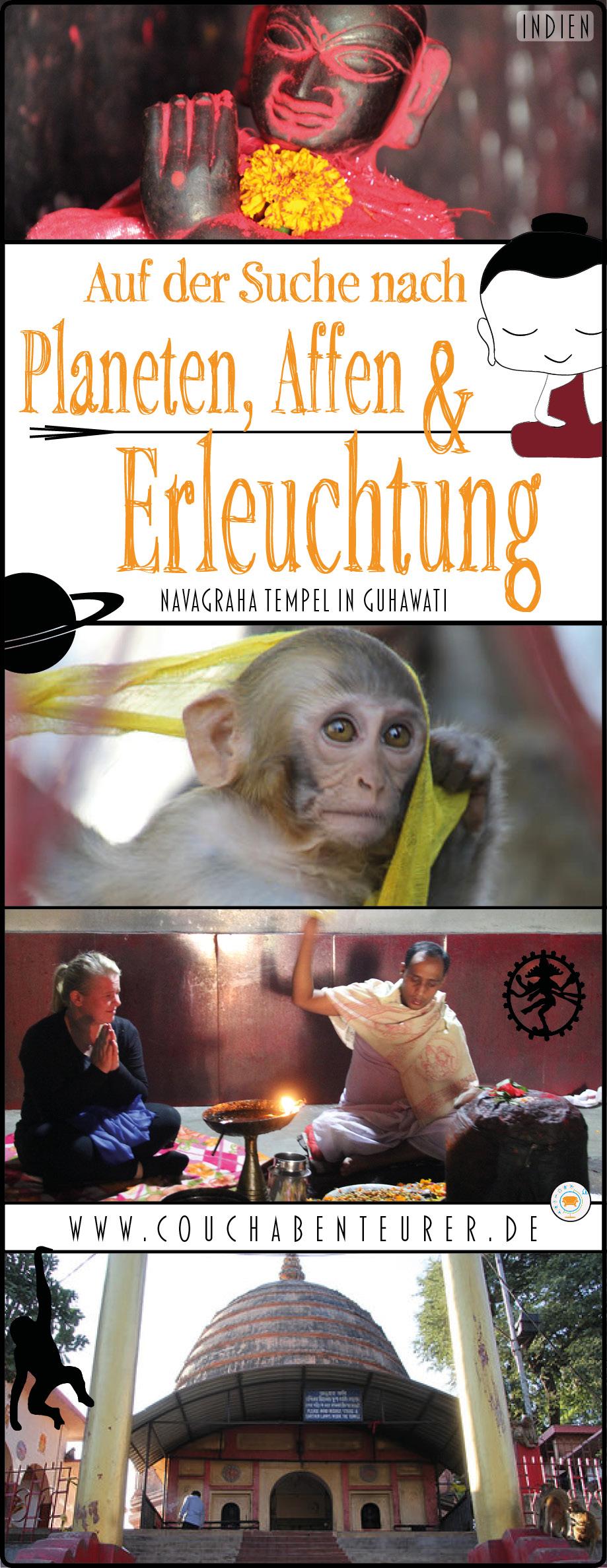 Navagraha-Tempel-Guhawat-Planeten-Affen-Erleuchtung