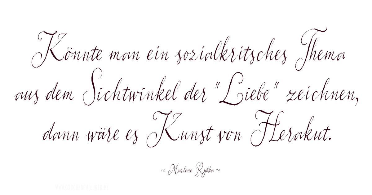 Herakut Zitat Marlene Rybka