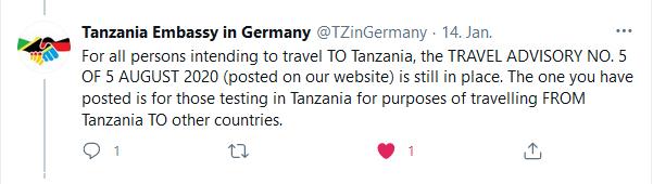 PCR_Test_Einreise_Tansania_Sansibar